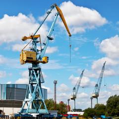 der Hafen von Wismar