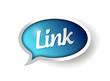 link message communication bubble illustration