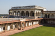 Court of the nobility on the Agra fort