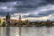 The Charles Bridge in Prague, Czech Republic