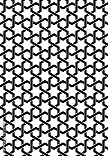 Pattern esagonale illustrator