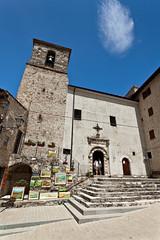 Castelluccio di Norcia, la Chiesa di S. Maria Assunta