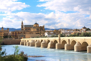 Great Mosque and Roman Bridge, Cordoba, Spain