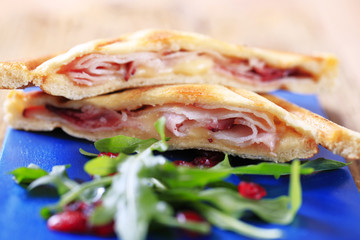 Ham and cheese toasties
