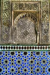 Décorations et motifs arabes en HDR