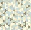Geometric triangles pattern with stripes
