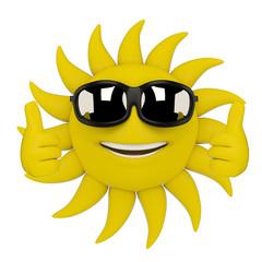 3D Sun - Thumbs Up