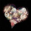 Feuerwerk - Herz