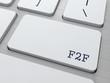 F2F. Internet Concept.