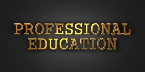 Professional Education. Business Concept.
