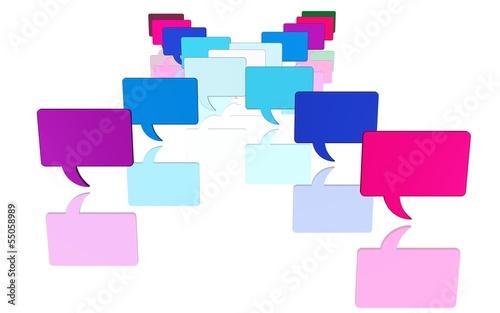 Kommunikation - viele offene Fragen - Informationsflut