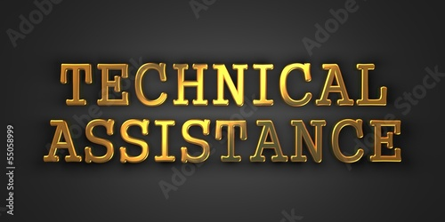 Technical Assistance. Business Concept.