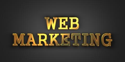 Web Marketing. Business Concept.