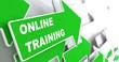 Online Training. Education Concept.