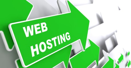 Web Hosting. Technology Concept.