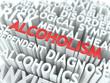 Alcoholism. The Wordcloud Concept.