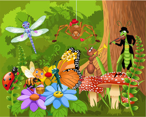 the bug world living in the forest © thea07