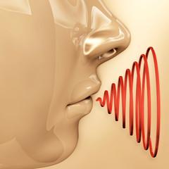 Mundgeruch- 3D Render