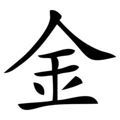 Chinesisches Zeichen für Metall