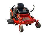 Fototapety Red lawnmower