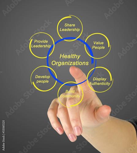 Healthy organizations