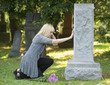 Touching Grief in the Cemetery