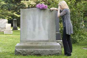 Grief in the Cemetery