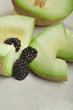 honeydew with blackberry