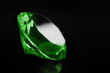 Green diamond.