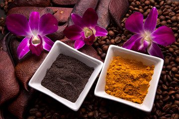 Coffee and Turmeric Scrub