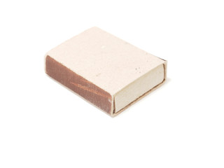 matchbox on a white background