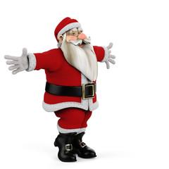 santa come on give a hug side view