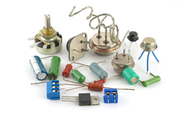 Old electonics components