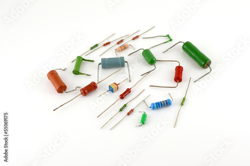 Electronic components - resistors - 55069175