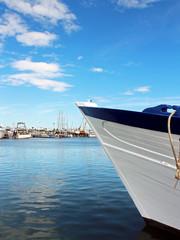 proue de bateau de pêche
