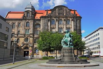 Otto von Guericke-Denkmal