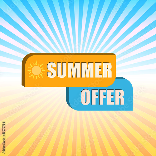 summer offer over rays