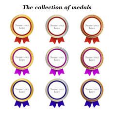 Коллекция наградных медалей