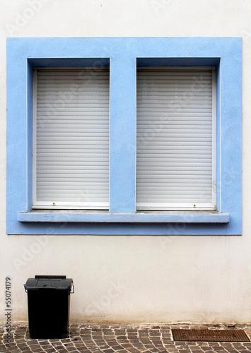 fenêtres bleues
