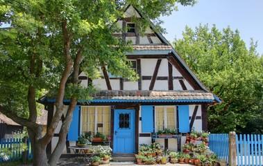 maisons alsaciennes traditionnelles