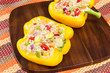Yelow Stuffed Peppers