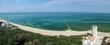 vieux phare des baleines vue de haut panorama - 55079794