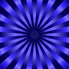 Fond rayons bleus