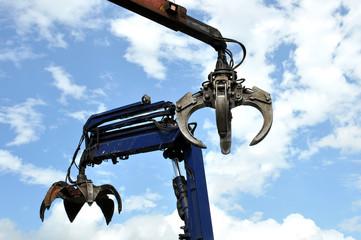 Hydraulic Claw Crane