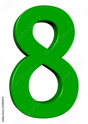 Yeşil renkli 8