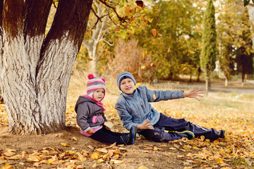 сhildren in park