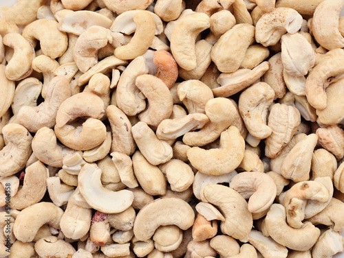Cashew nuts full frame