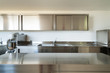 Professional kitchen, view counter  in steel - 55084581