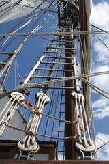 bateau, bateaux, bretagne, voile, voilier, vieux, gréements