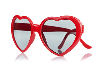 sunglasses like a heart